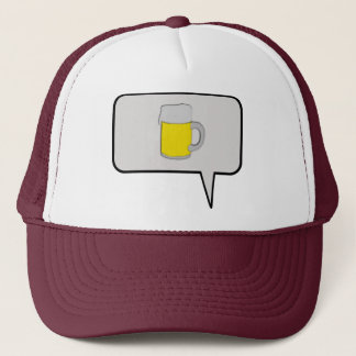 One Beer Speech Bubble Hat