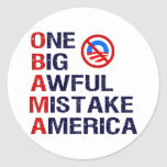 One Big Awful Mistake, America Sticker