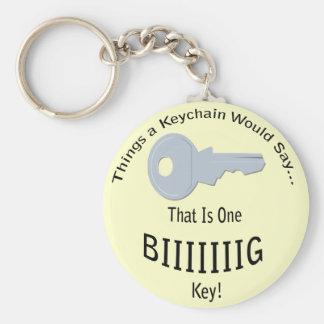 One BIG Key Lt Keychain