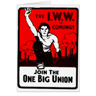 One Big Union - Card