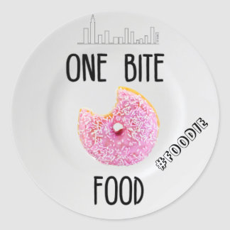 One Bite Food Stickers