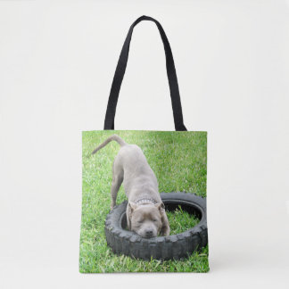 One_Bite_Or_Two,_Full_Print_Tote_Shopping_Bag. Tote Bag