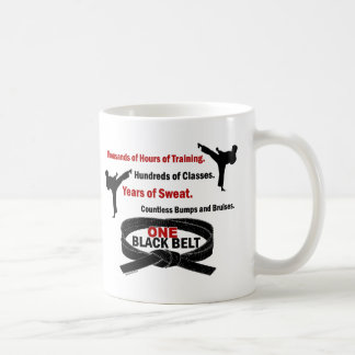 ONE Black Belt 1 KARATE T-SHIRTS & APPAREL Coffee Mug