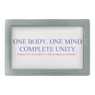One Body. One Mind. Belt Buckle