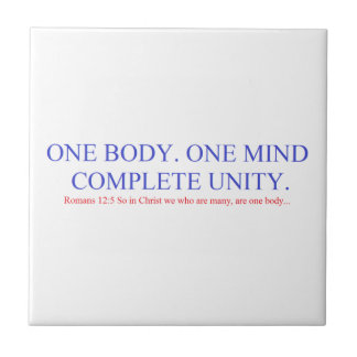 One Body. One Mind. Tile