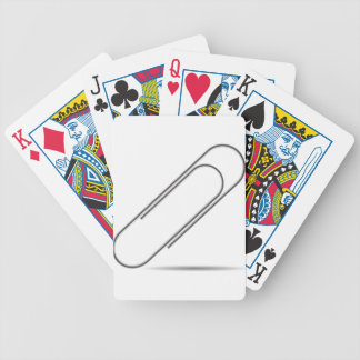 one clip bicycle playing cards