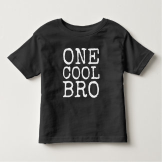 One Cool Bro   Big Brother Graphic Tee