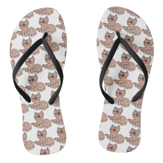 One Cool Cat Flip Flops
