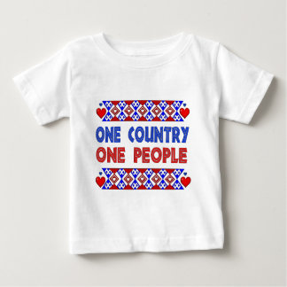 One Country One People Baby T-Shirt