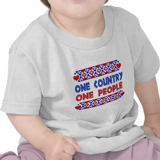 One Country One People Tee Shirt