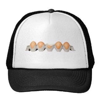 One cracked egg trucker hat