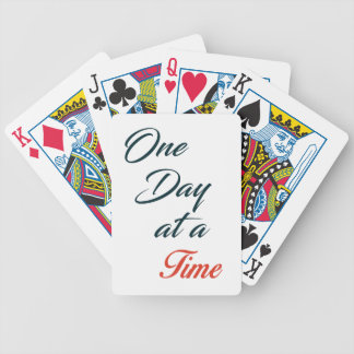 One Day at a time Bicycle Playing Cards