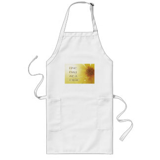 One Day at a Time Coreposis Long Apron