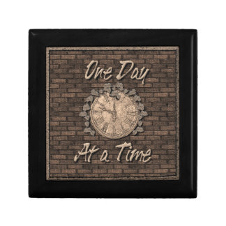 One Day At A Time God Box medallion box Jewelry Box