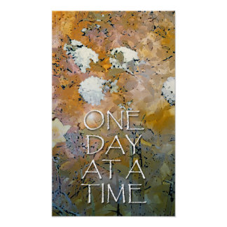 One Day at a Time Hydrangeas Posters