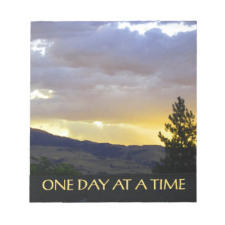 One Day at a Time July Sky Notepad