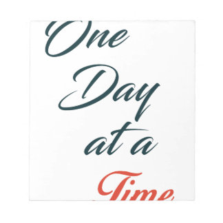 One Day at a time Notepad
