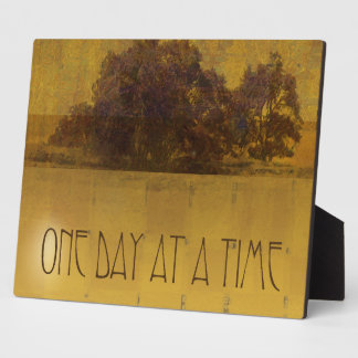 One Day at a Time ODAT Oaks by the Lake Plaque