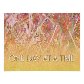 One Day at a Time Poster Print