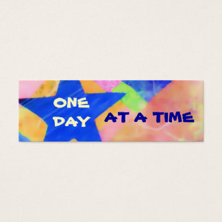 One Day at a Time profile card or bookmark