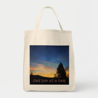 One Day at a Time Sunrise Tote Bag