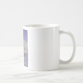 One Day at a Time Trees Hills Snow Coffee Mug