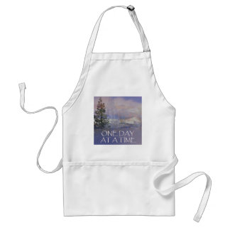 One Day at a Time Tres Hills Snow Standard Apron