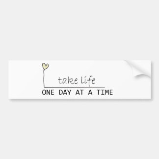 one day at at time bumper sticker