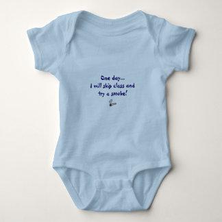 One day...I will skip class Baby Bodysuit