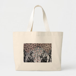 One Draw By Carter L. Shepard Large Tote Bag
