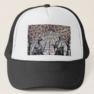 One Draw By Carter L. Shepard Trucker Hat