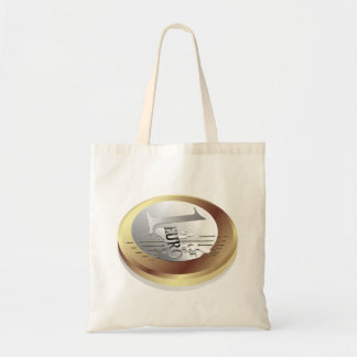 One Euro Coin Tote Bag