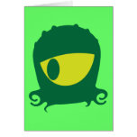 One eyed Alien creature Cards