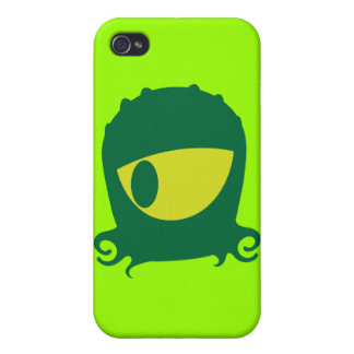 One eyed Alien creature Case For The iPhone 4