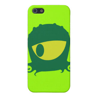 One eyed Alien creature iPhone 5/5S Cases