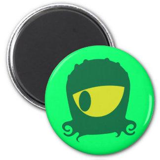 One eyed Alien creature Refrigerator Magnets