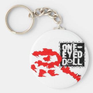 One-Eyed Doll Keychain