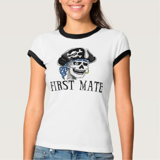 One-eyed Pirate First Mate T-Shirt