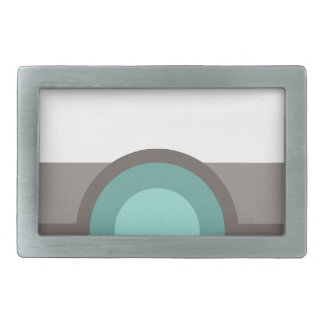 One Eyed Robot Rectangular Belt Buckle