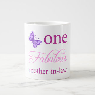 One Fabulous Mother-In-Law Large Coffee Mug