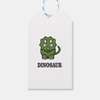 one fine dino pack of gift tags