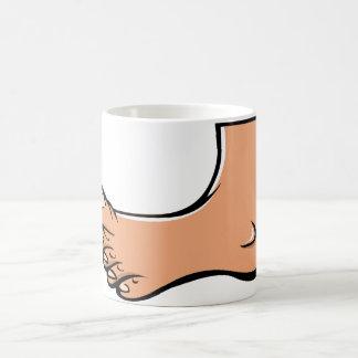 One Foot Mug