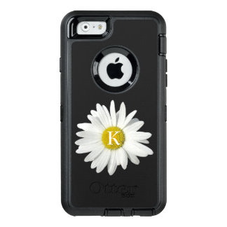 One Fresh Daisy and Custom Initial OtterBox iPhone 6/6s Case