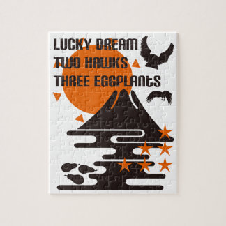 One Fuji two 鷹 three eggplants Jigsaw Puzzle