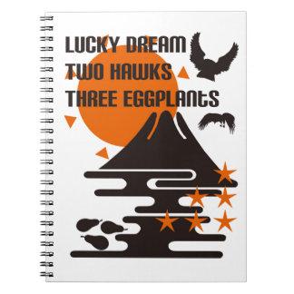 One Fuji two 鷹 three eggplants Notebook