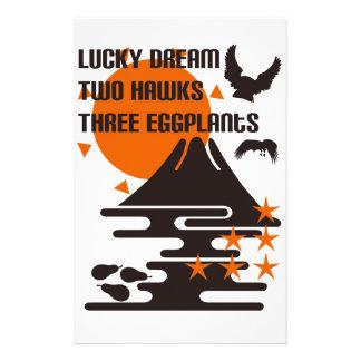 One Fuji two 鷹 three eggplants Stationery