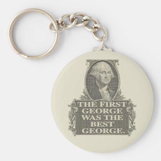 One George Key Chain