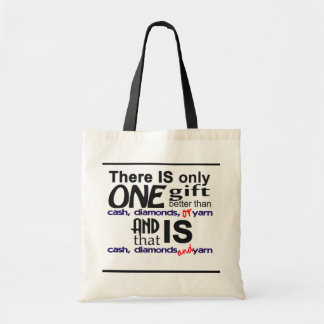 """""""One Gift Better"""" Project Bag"""