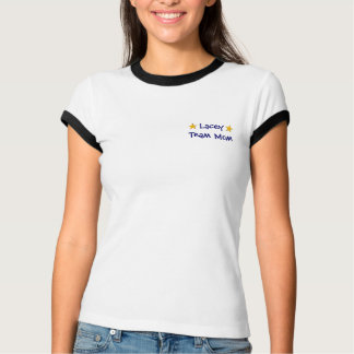 one gold star, one gold star, Team Mom T-Shirt