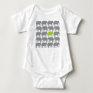 One Green Elephant in the Herd Shirt